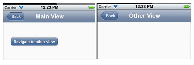 Transition styles in Kendo UI Mobile | Telerik Helper
