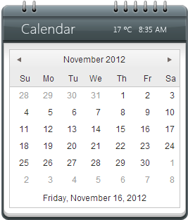 Kendo calendar wrapper for asp net mvc telerik helper for Kendo menu template
