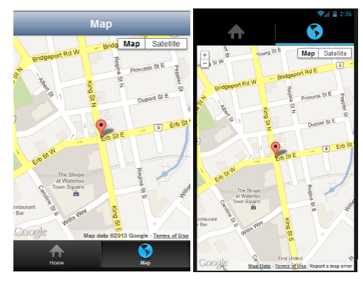 How To Show Current Location On Google Map In Icenium Telerik - Current google maps satellite