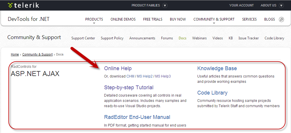 How To Get Started With Telerik's ASP NET AJAX Controls