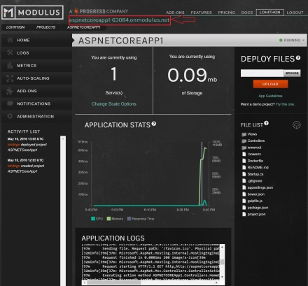 Modulus Portal - Project Information