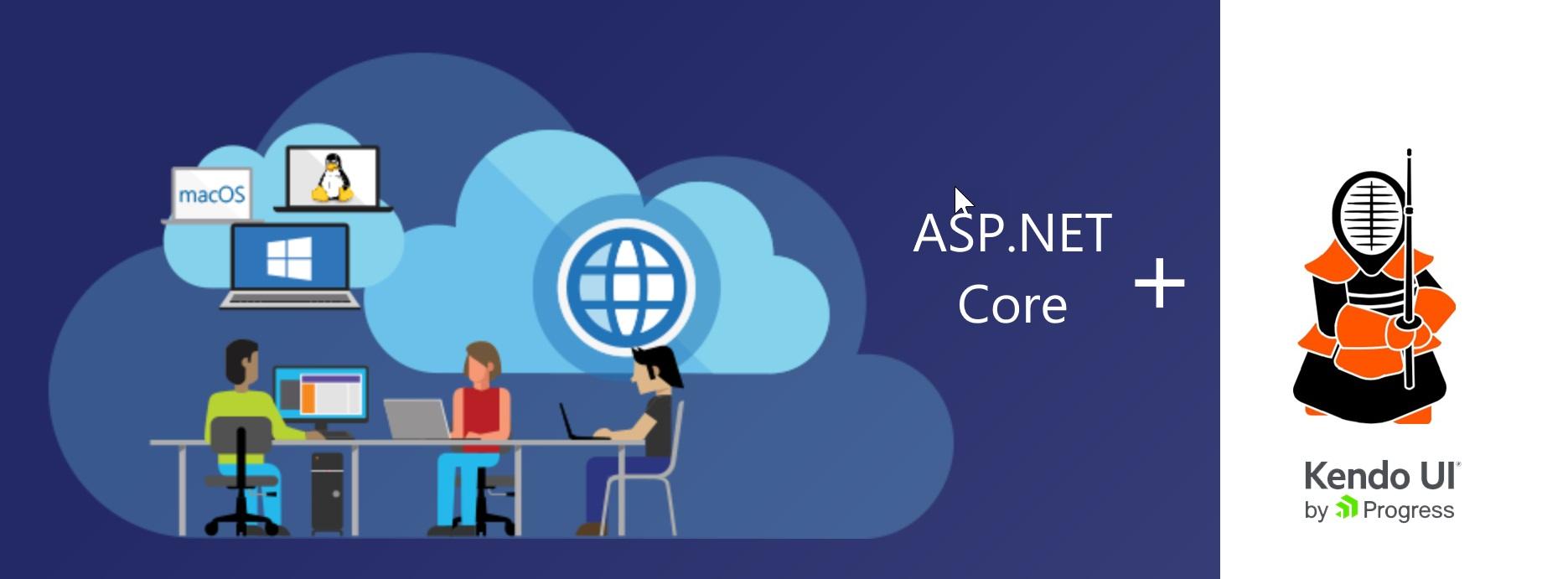 How To: Use Kendo UI Core in ASP NET MVC Core | Telerik Helper