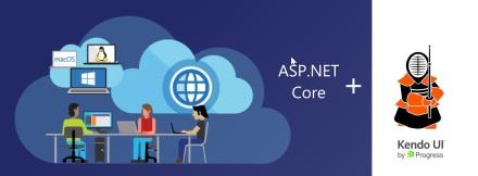 ASP.NET Core + Kendo UI Core